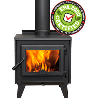 TN10 Wood Stove Leg Model – EPA2020 certified and catalytic-free