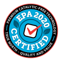 EPA2020 Certified Premium Catalytic-Free Technology mark